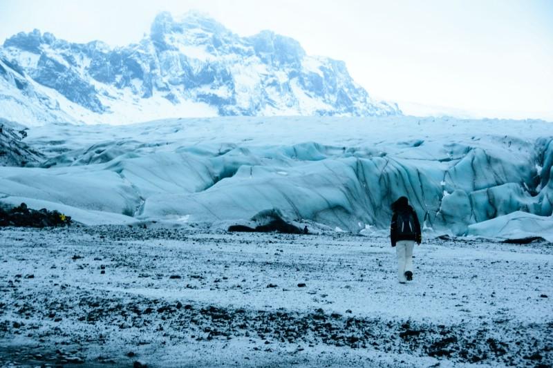 Vatnajokull Glacier Tongue
