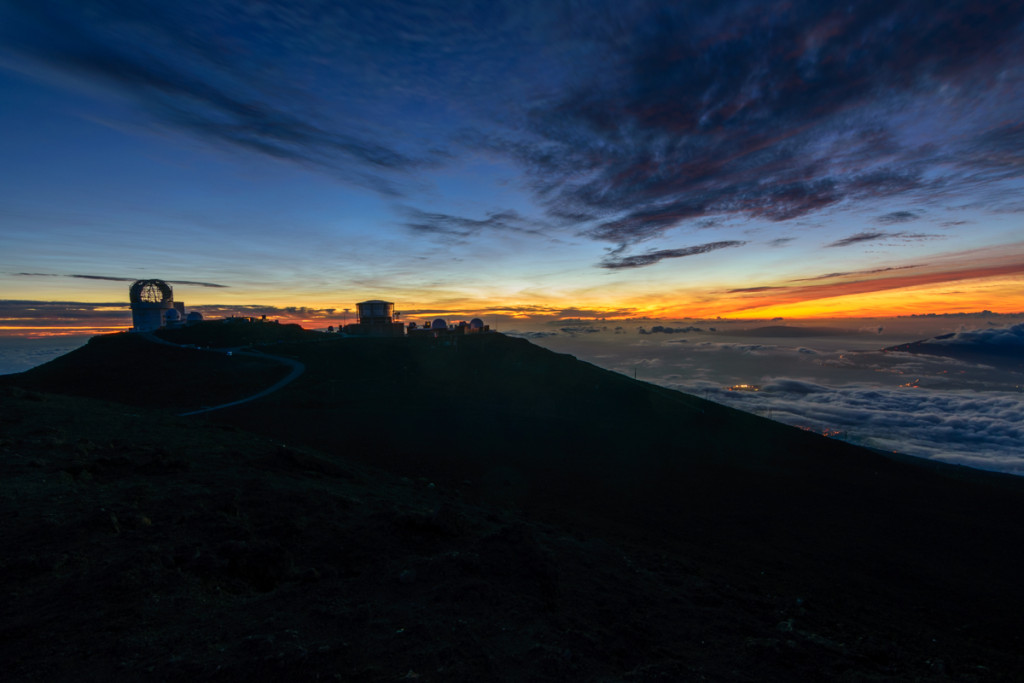 Mt Haleakala Sunset