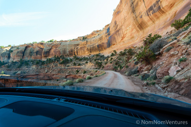 Next day, the husband dropped by and we drove down the canyon to catch a different perspective.