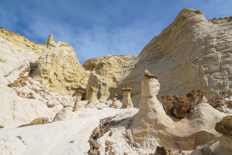 I found myself surrounded with hoodoos