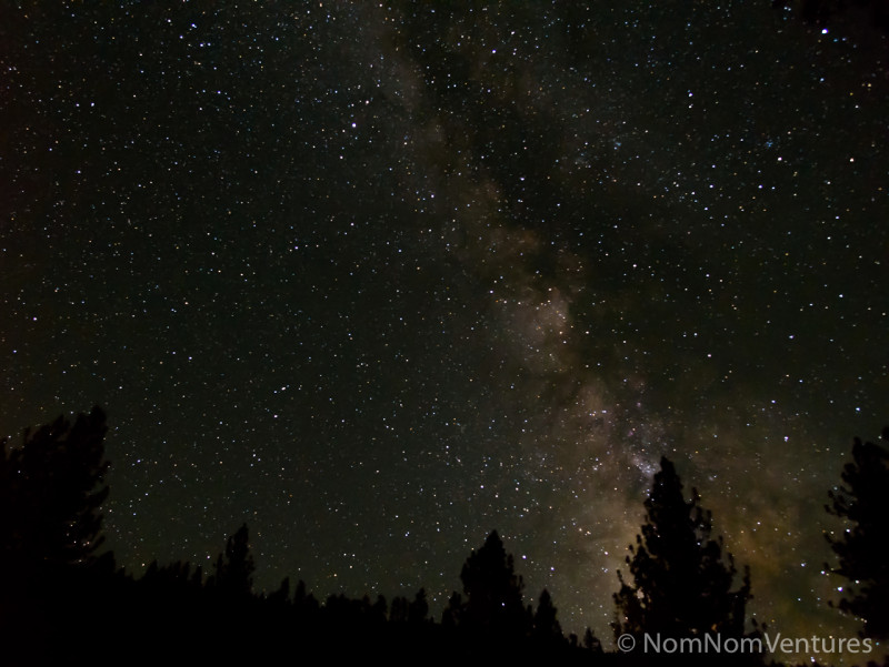 You can set an alarm for 1 or 2 am to enjoy a Milkyway view.
