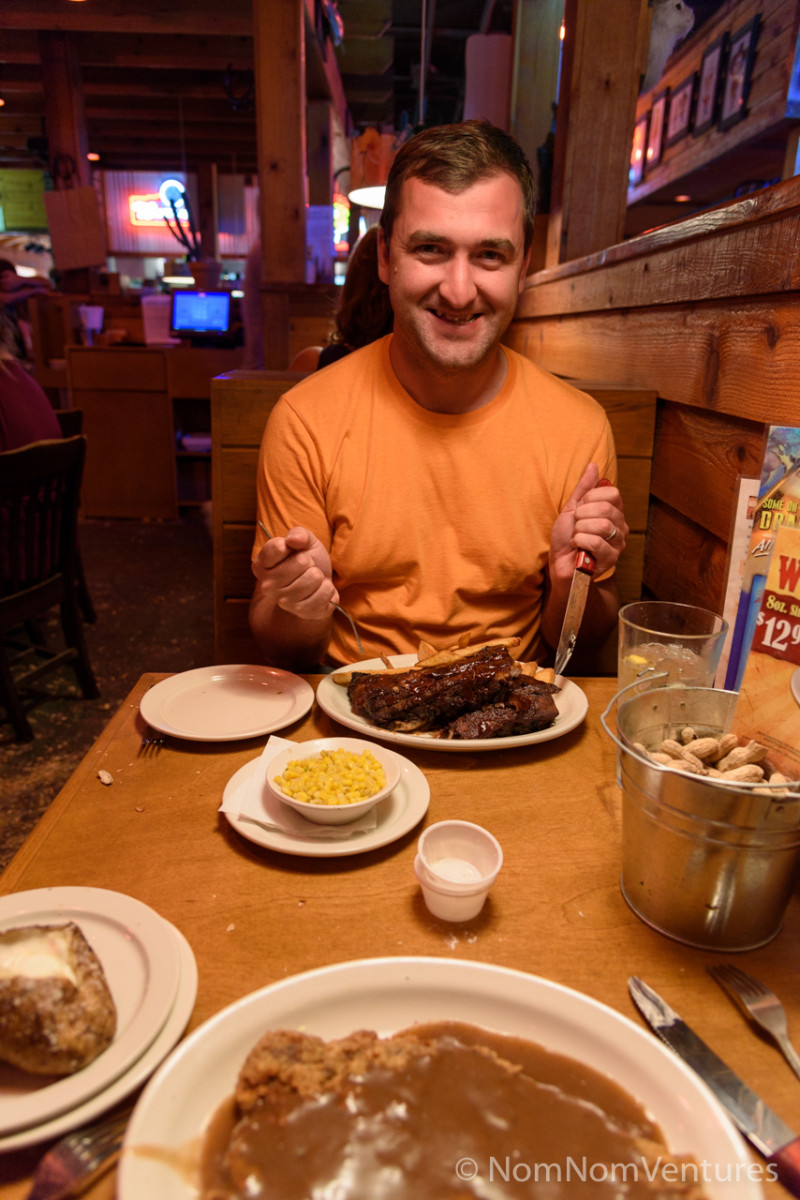 and Thorsten wanted a full rack of ribs!