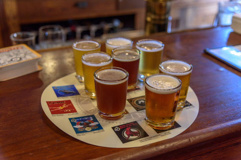 We stopped by North Coast Brewery to realize the array of beer they brewed.